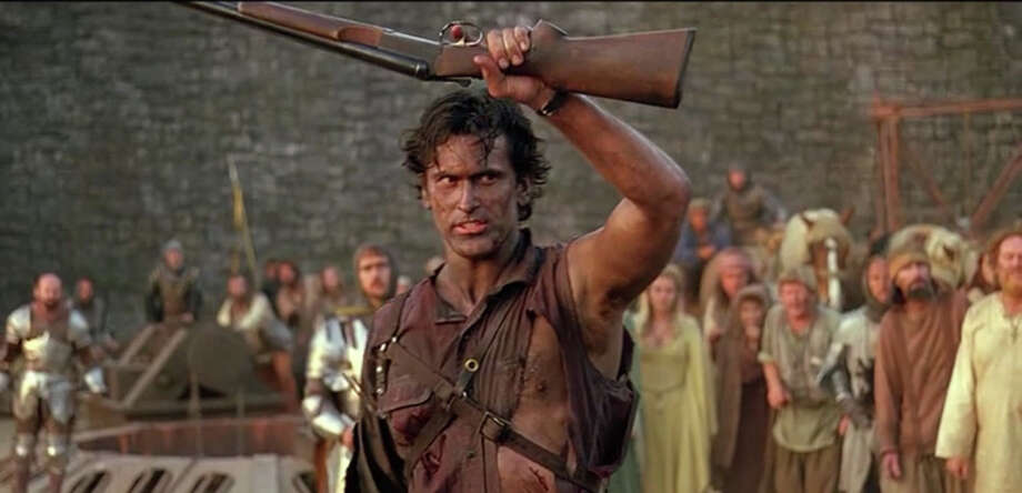 "Bruce Campbell will join fans in San Antonio later this fall for a special screening of ""Army of Darkness"" at The Aztec Theater. Photo: Universal Studios/Contributed Photo, Contributed Photo / Connecticut Post Contributed"