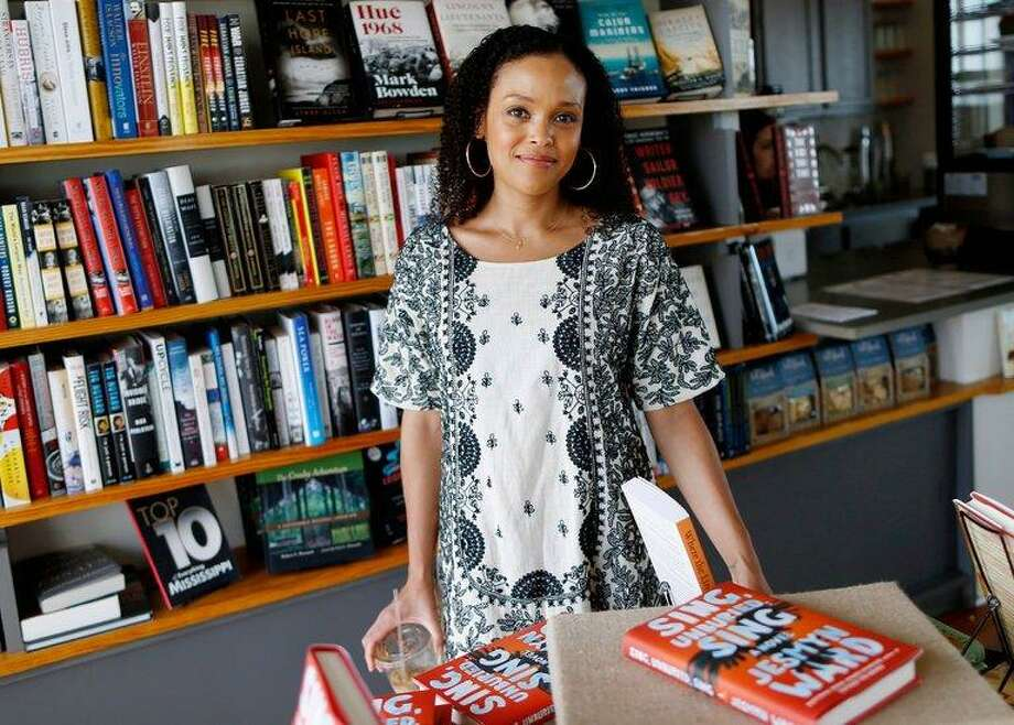 "Jesmyn Ward won the 2017 National Book Award for fiction for ""Sing, Unburied, Sing,"" a dark, family fable set in contemporary Mississippi that grapples with race, poverty and the psychic scars of past violence. It was her second fiction NBA; she also won in 2011 for her novel ""Salvage the Bones."" Photo: Courtesy Photo"