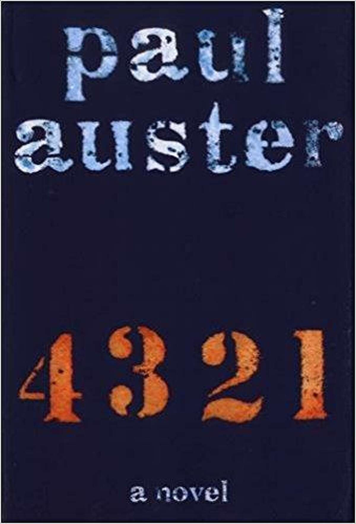 4321 By Paul Auster Henry Holt , $32.50 (fiction) At 866 pages,