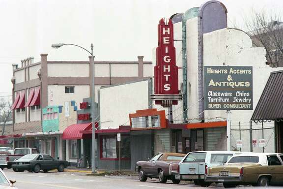 19th Street in the Heights, Dec. 21, 1987.