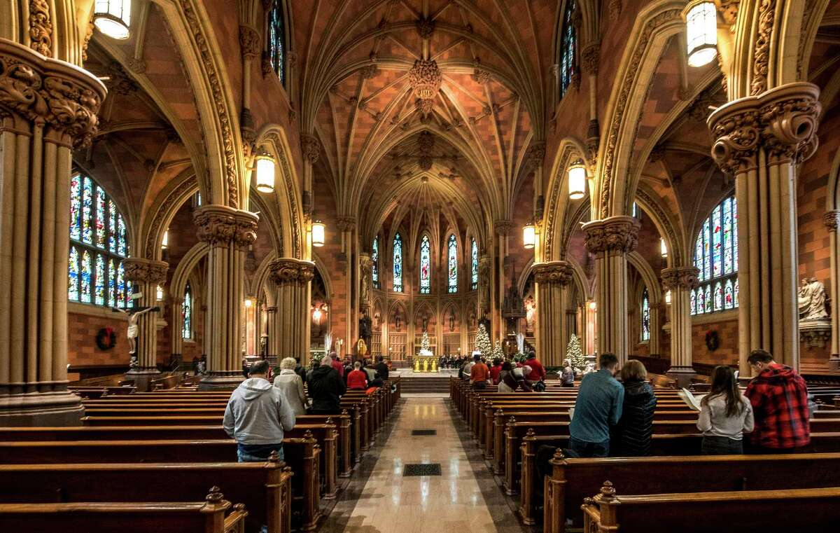 """The Albany Diocese bishop will perform the main role in """"Murder in the Cathedral"""" at a free staged reading at the Cathedral of the Immaculate Conception in Albany Wednesday at 7:30 p.m."""