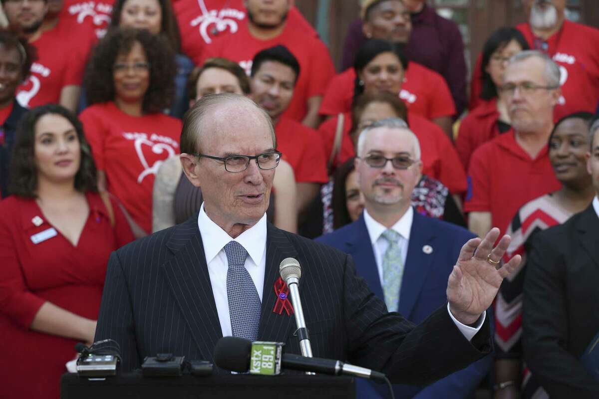 Bexar County Judge Nelson Wolff said the county didn't seem to fit in with the direction Centro San Antonio was taking under CEO Pat DiGiovanni and pulled its funding from the nonprofit in 2015.