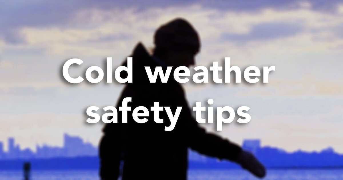 Click through for cold weather safety tips as provided by the city of Norwalk's Office of Emergency Management.