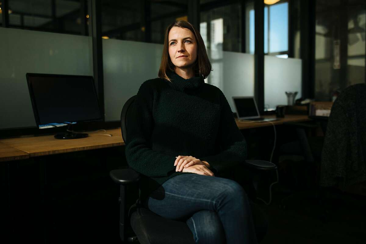 Callisto CEO Jess Ladd photographed at their office in San Francisco, Calif. Thursday, December 14, 2017.