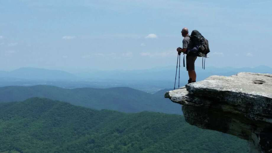 The Kent Memorial Library will host a program on the adventures of  a hiker on the Appalachian Trail. Photo: Contributed Photo