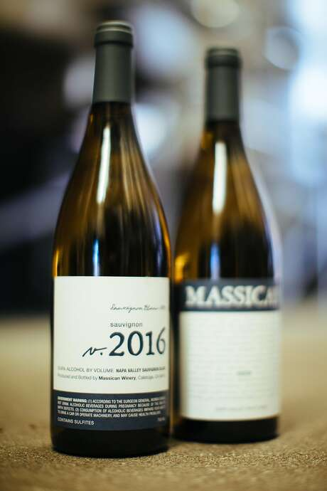 Massican Sauvignon Blanc. Photo: Mason Trinca, Special To The Chronicle