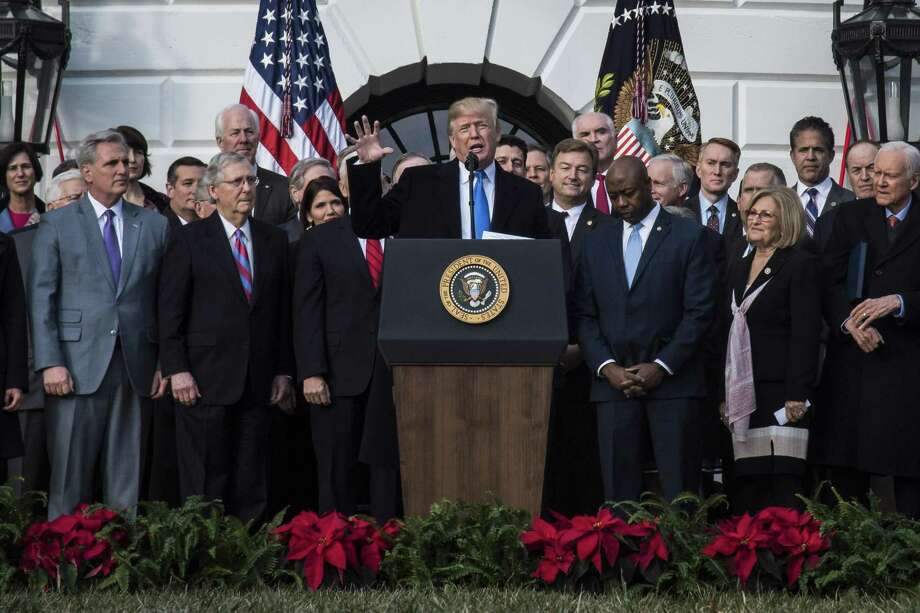 Republicans praise for President Donald Trump's achievements is puzzling. His agenda was remarkable only for being so typical. Photo: Jabin Botsford /The Washington Post / The Washington Post