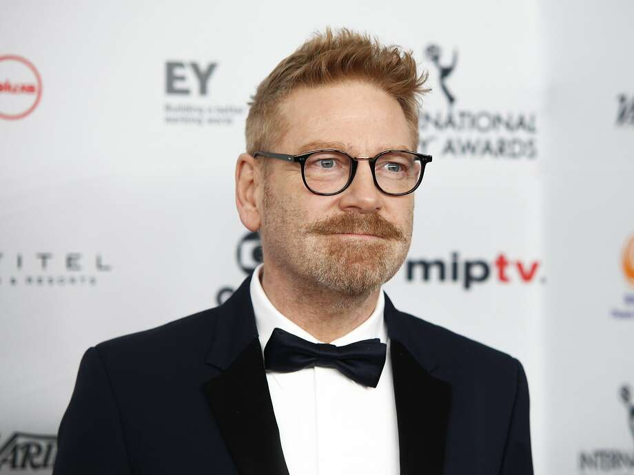 """CORRECTS NAME OF CHARACTER TO DETECTIVE HERCULE POIROT FROM DETECTIVE HERCULES POIROT - FILE - In this Nov. 20, 2017, file photo, Kenneth Branagh attends the 45th International Emmy Awards at the New York Hilton in New York. Branagh is teasing the return of """"old friends"""" in his planned sequel to """"Murder on the Orient Express."""" Branagh is expected to return as both director and fancifully mustachioed lead character Detective Hercule Poirot in """"Death on the Nile"""" (Photo by Andy Kropa/Invision/AP, File) Photo: Andy Kropa, Associated Press"""