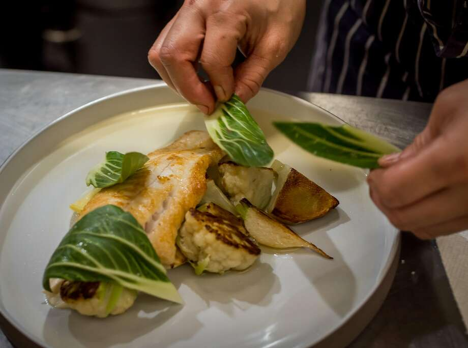 Madcap in San Anselmo: Plating of the Petrale sole. Photo: John Storey, Special To The Chronicle