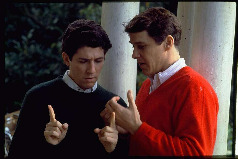 """For actors Peter Riegert (left), Tim Matheson and others in the cast, """"Animal House"""" was among their earliest film roles."""