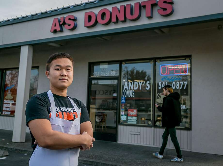 Danit Lean, son of the owner of A's Donuts in Santa Rosa, Calif., is seen on November 19th, 2017. Photo: John Storey, Special To The Chronicle
