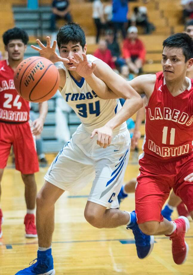 Jorge Salazar and Cigarroa host Matthew Carreon and Martin at 3 p.m. Saturday as both teams attempt to stay unbeaten in District 31-5A. Photo: Danny Zaragoza /Laredo Morning Times File / Laredo Morning Times