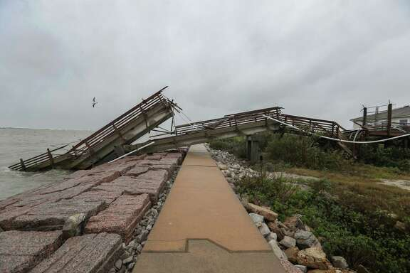 "Hurricane Harvey decimated UT's Marine Science Institute research pier in Port Aransas and displaced many of its faculty and students. Institute leaders are still assessing the losses, but the cost to rebuild will be in the ""many tens of millions of dollars,"" its director says."
