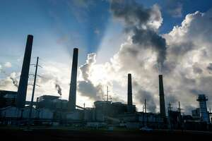 The W.A. Parish plant in Fort Bend County relies on natural gas and coal to generate electricity. The Energy Department says prices are so low that operators shut down 531 coal-fired generation units between 2002 and 2016.