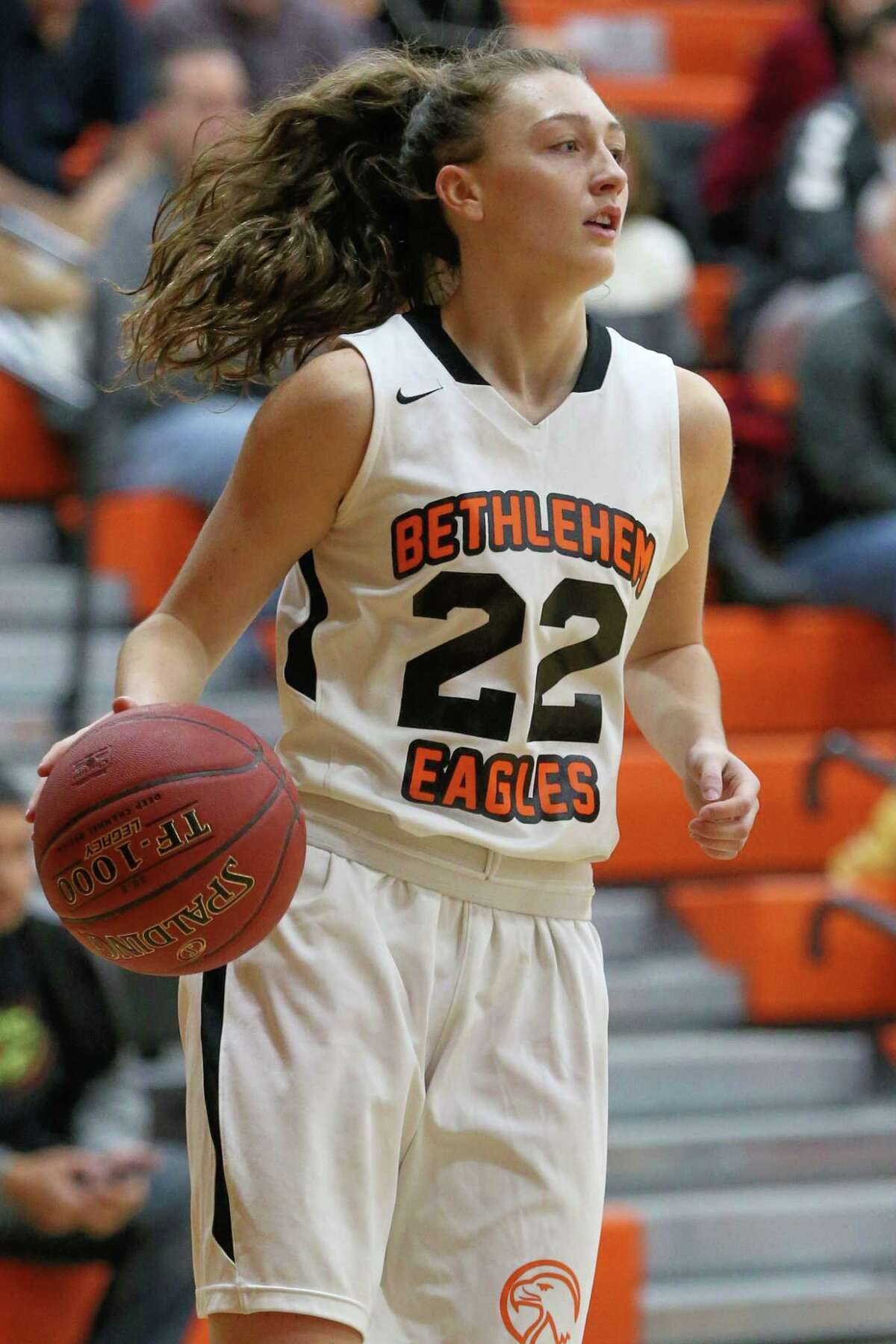 Maggie Kirby #22 of The Bethlehem Eagles on 12/21/17 in Delmar NY. Photo: Robert Dungan (Special to the Times Union) ORG XMIT: MER2017082023255053
