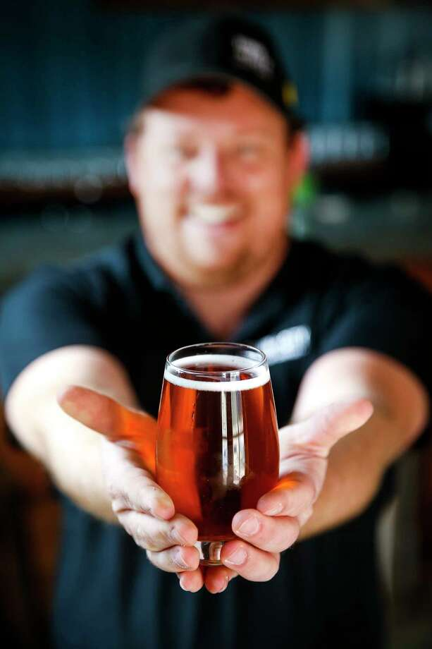 Town in City Brewing Co. owner Justin Engle hopes to tap into the growing cider market. Photo: Michael Ciaglo, Houston Chronicle / Michael Ciaglo