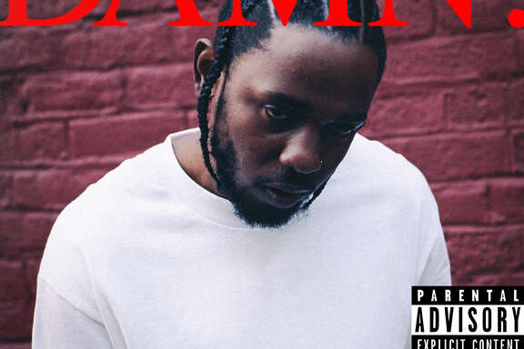 "This cover image released by Interscope Records shows ""Damn."" the latest release by Kendrick Lamar. (Interscope Records via AP)"