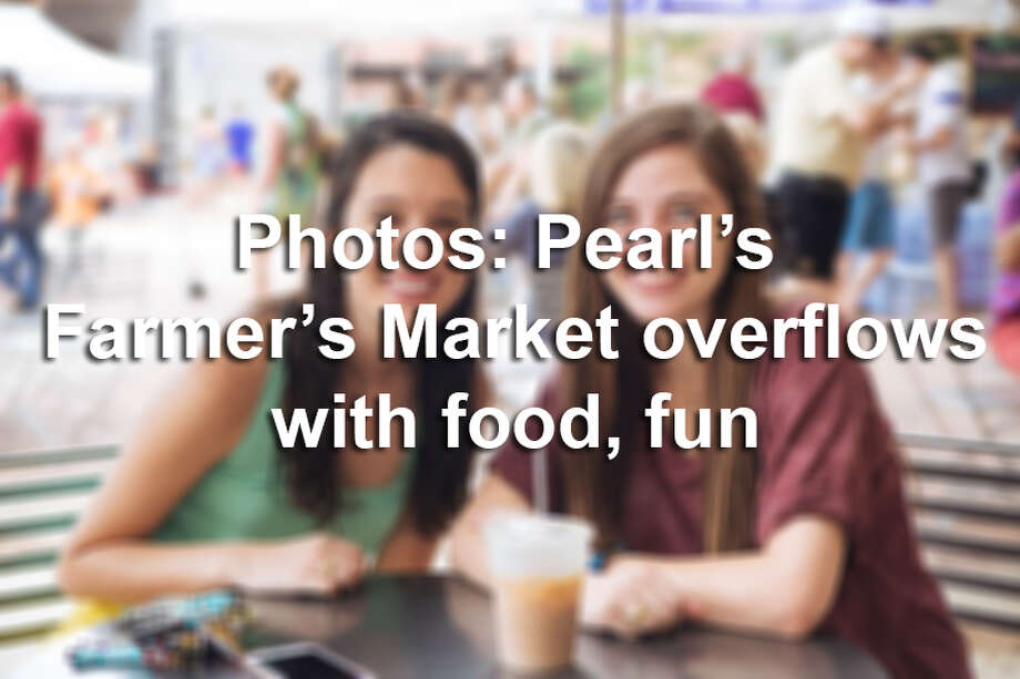 Each weekend, locals flock to The Pearl to take in the sights, sounds and flavors of the area's weekly farmer's market. Click through to see photos from the event.  Photo: Christian Ibarra For MySA