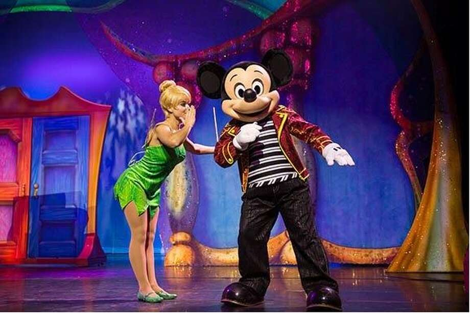 """Disney Live! Mickey and Minnie's Doorway to Magic"" at the Wagner Noel Performing Arts CenterMickey and Minnie Mouse bring magic to Midland with a show full of illusions and trickery.  Photo: Courtesy"