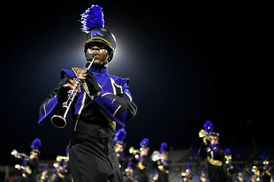 The Midland High marching band performs during the homecoming game against Keller on Sept. 22, 2017, at Grande Communications Stadium.  James Durbin/Reporter-Telegram Photo: James Durbin