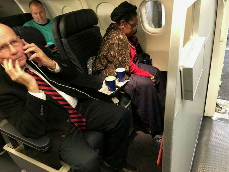 A woman claims United Airlines gave her first-class seat to Rep. Sheila Jackson Lee. Photo: Courtesy