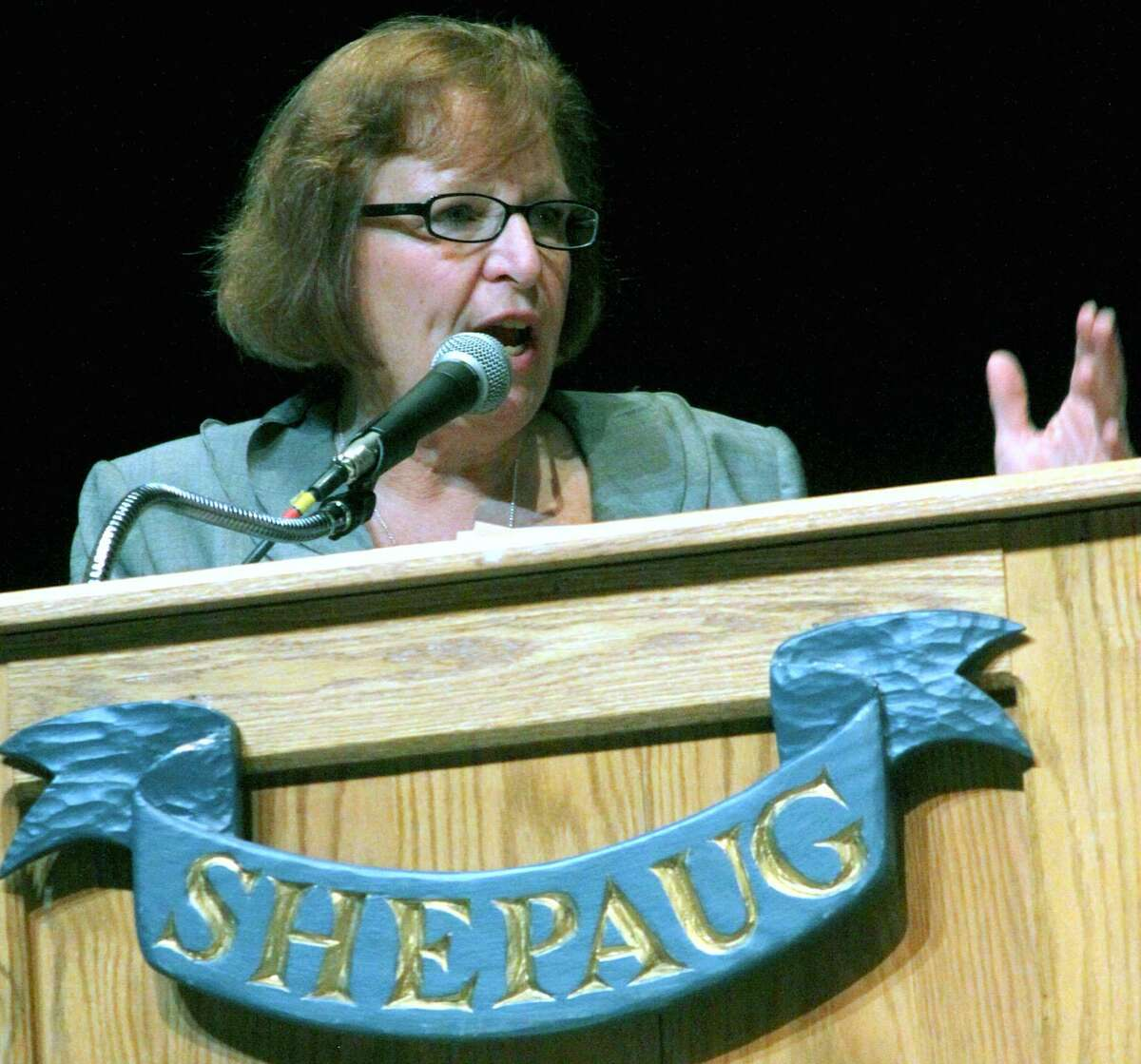 Pat Cosentino, the Region 12 superintendent of schools, has submitted her resignation.