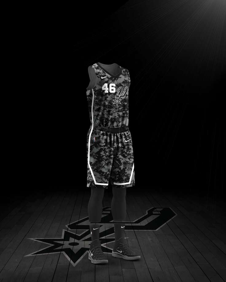 6004d036da0ab The Spurs unveiled the Nike City Edition jerseys for the 2017-18 season on  Wednesday