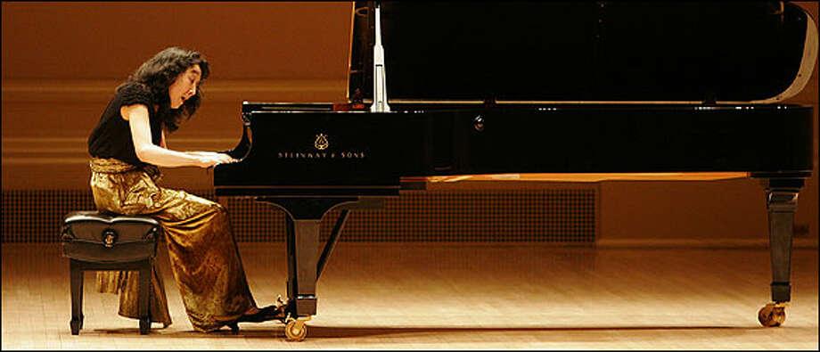 Pianist Mitsuko Uchida