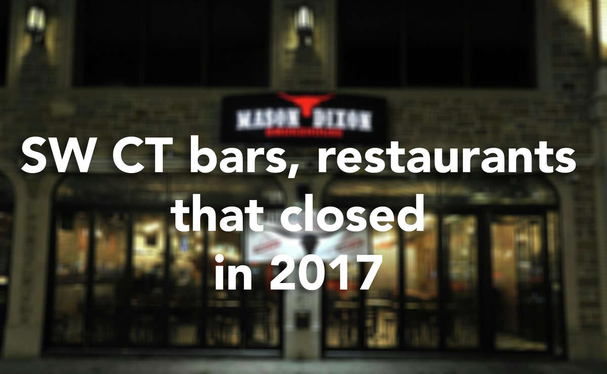Click through for an overview of local Connecticut bars and restaurants that closed in 2017.