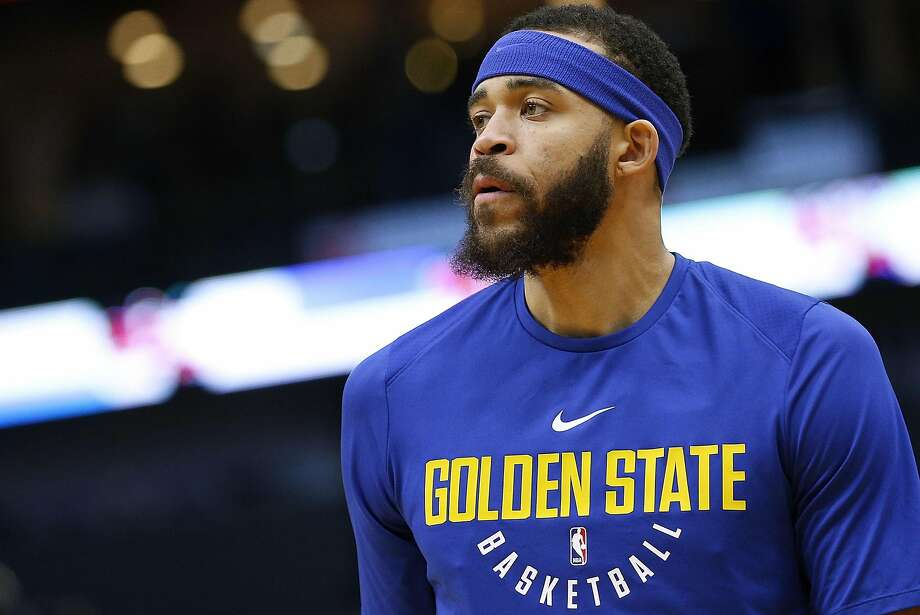 NEW ORLEANS, LA - DECEMBER 04:  JaVale McGee #1 of the Golden State Warriors warms up before a game against the New Orleans Pelicans at the Smoothie King Center on December 4, 2017 in New Orleans, Louisiana. NOTE TO USER: User expressly acknowledges and agrees that, by downloading and or using this Photograph, user is consenting to the terms and conditions of the Getty Images License Agreement.  (Photo by Jonathan Bachman/Getty Images) Photo: Jonathan Bachman, Getty Images