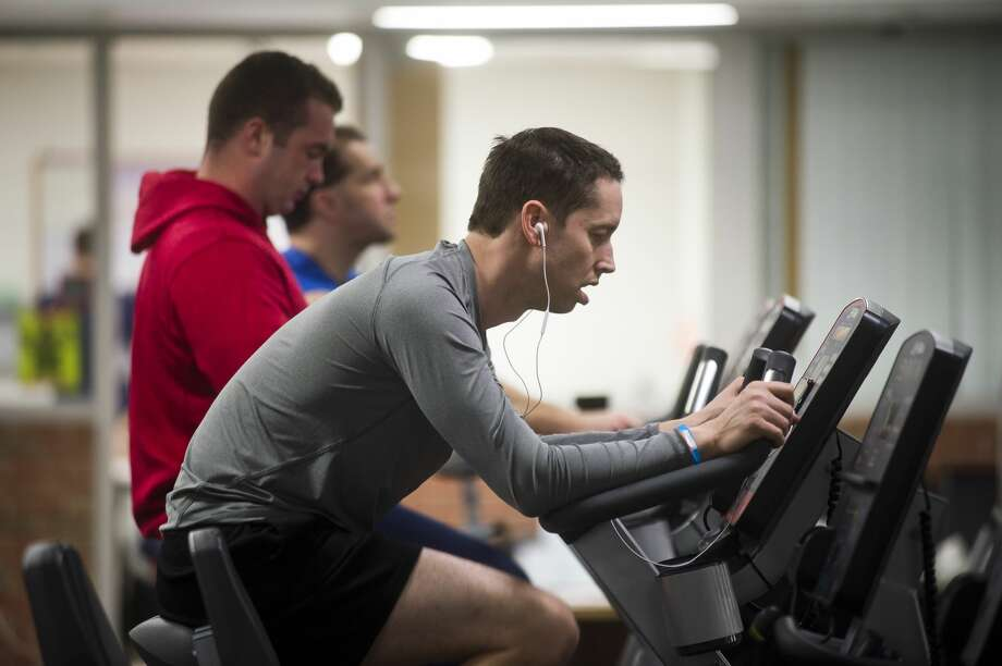 Get fit: Here's a classic resolution, the age-old promise to yourself to get fit, or exercise more, or some variation of it. It's an honorable goal, certainly one worth making. But perhaps there is a way to make it more meaningful. Photo: (Katy Kildee/kkildee@mdn.net)