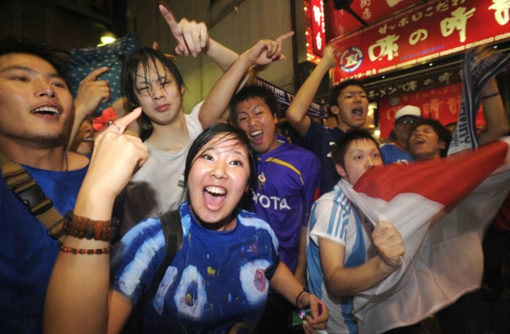 Crazy World Cup fans
