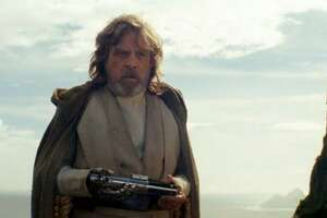 """Mark Hamill reprises the role of Luke Skywalker in """"Star Wars: The Last Jedi."""" We love to share in the epic hero's struggles."""