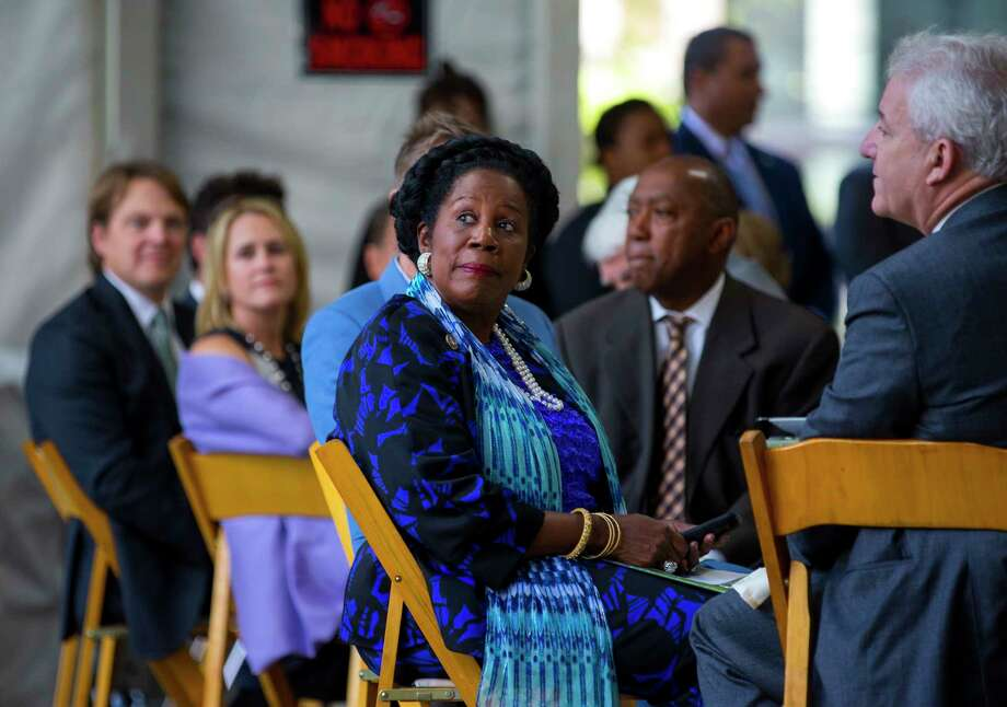 Congresswoman Sheila Jackson Lee during the Houston Parks Board Annual Luncheon on Tuesday, October 17, 2017, in downtown Houston. (Annie Mulligan / Freelance) Photo: Annie Mulligan, Freelance / @ 2017 Annie Mulligan