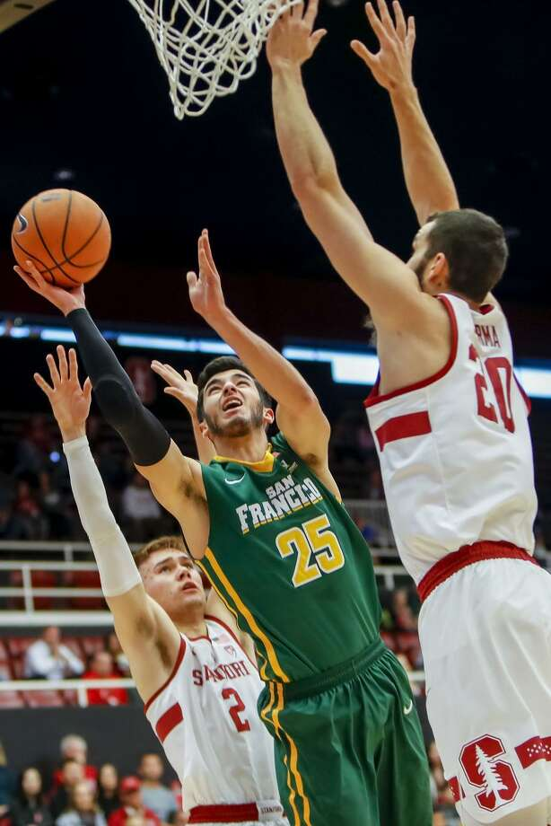 USF sophomore guard Jordan Ratinho (De La Salle-Concord) is the only Dons men's player to start every game this season. Photo: Icon Sportswire / Icon Sportswire Via Getty Images / ©Icon Sportswire (A Division of XML Team Solutions) All Rights Reserved
