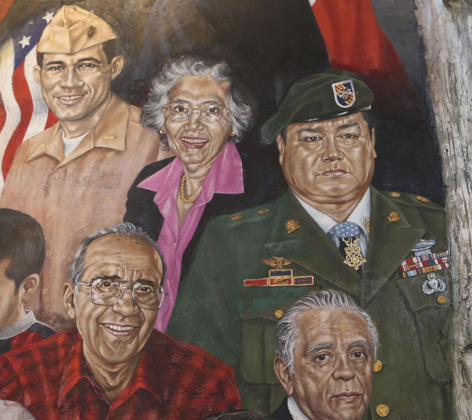 Hispanics in the military