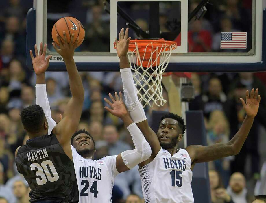 Butler overcomes 20-point deficit to beat Georgetown in double overtime