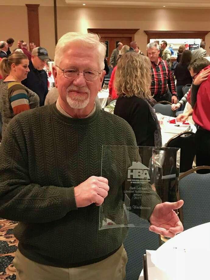 Greg Weckesser, Ben Lerner Lifetime Achievement awardee. (photo provided)