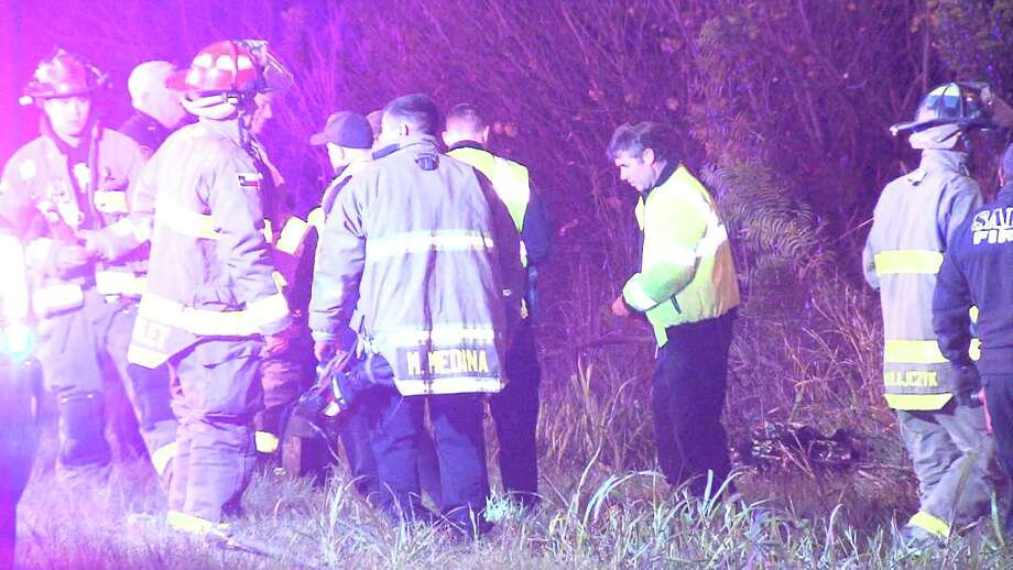 The driver, who has yet to be identified, rolled is vehicle off the roadway near Interstate 10 and Loop 410 around 10 p.m., police said. Photo: Ken Branca