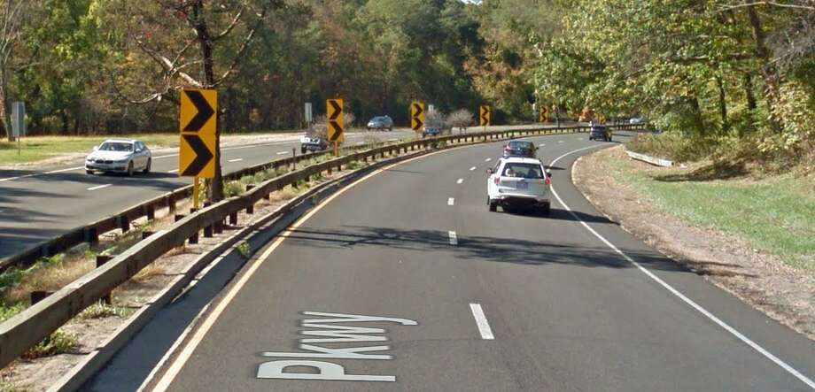 The state is planning some work on four curves on the Merritt Parkway in Greenwich that is designed to reduce the number of accidents. The curves that can catch unsuspecting drivers by surprise are near Exit 31, between Taconic Road and Lake Avenue. Generally, in the area of Putnam and Rockwood lakes. Work is expected to begin in the summer of 2018. Photo: Google Street View