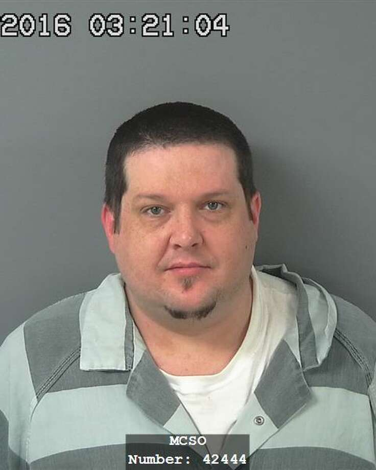 "Russell Lee Ketchum, 43, has pleaded guilty in the 2014 double homicide of Louis ""Pepper"" Wilkinson and Lisa McWashington in Conroe. Prosecutors had intended to seek the death penalty, but after the plea deal Ketchum was sentenced to life in prison without parole. Photo: Montgomery County Jail"