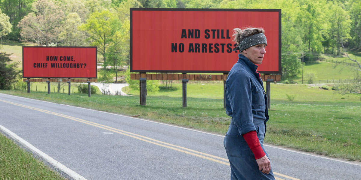 Frances McDormand stars in 'Three Billboards Outside Ebbing, Missouri'