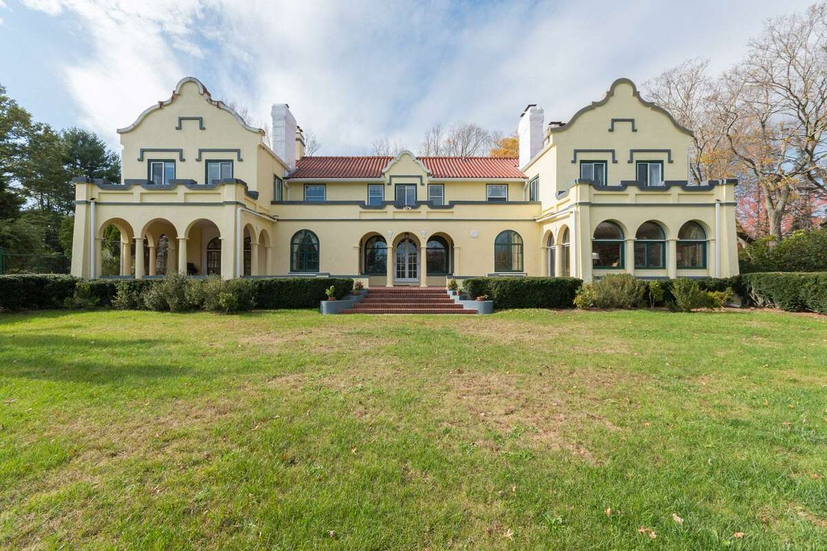 The majestic home at 375 Warner Hill Road in Fairfield's Southport section, known to most as