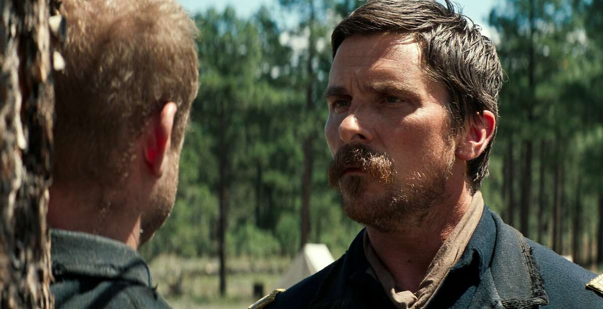 Christian Bale stars as a veteran Indian fighter charged with escorting an ailing Cheyenne chief to Montana in