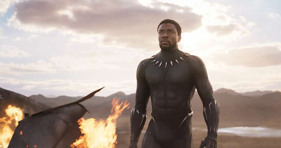 Chadwick Boseman is 'Black Panther'