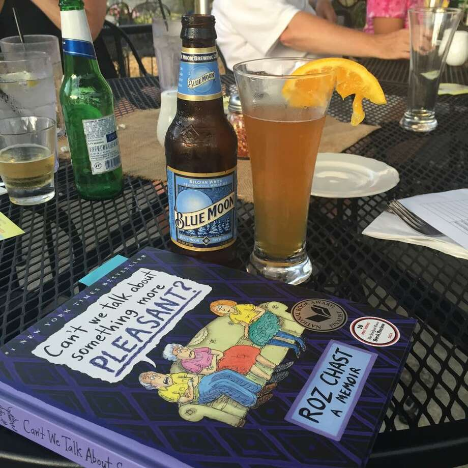 A scene from a 2015 Read 'n Greet Book Club meeting at More Perreca's in Schenectady. (From the Read 'n Greet Facebook page)
