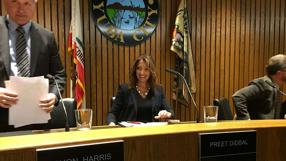 Yuba City Mayor Preet Didbal presided over her first City Council meeting Tuesday. Photo: Phil Willon, TNS