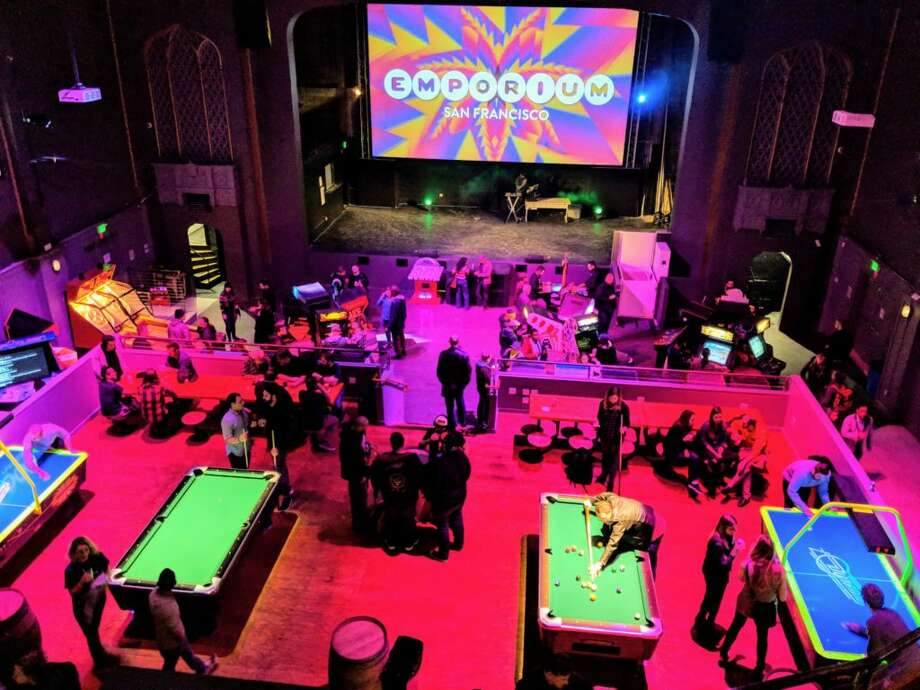 Play aroundSan Francisco is home to not one, but a handful of arcade-bar hybrids. The newest of them is Emporium (pictured), built in a long-abandoned 12,000-square foot theater on Divisadero Street. There's also Coin-Op Game Room in Mission Bay, Brewcade on Market Street near the Castro, and, for the wannabe golfers, Urban Putt in the Mission, which features a miniature golf course. Photo: Courtesy Of Emporium
