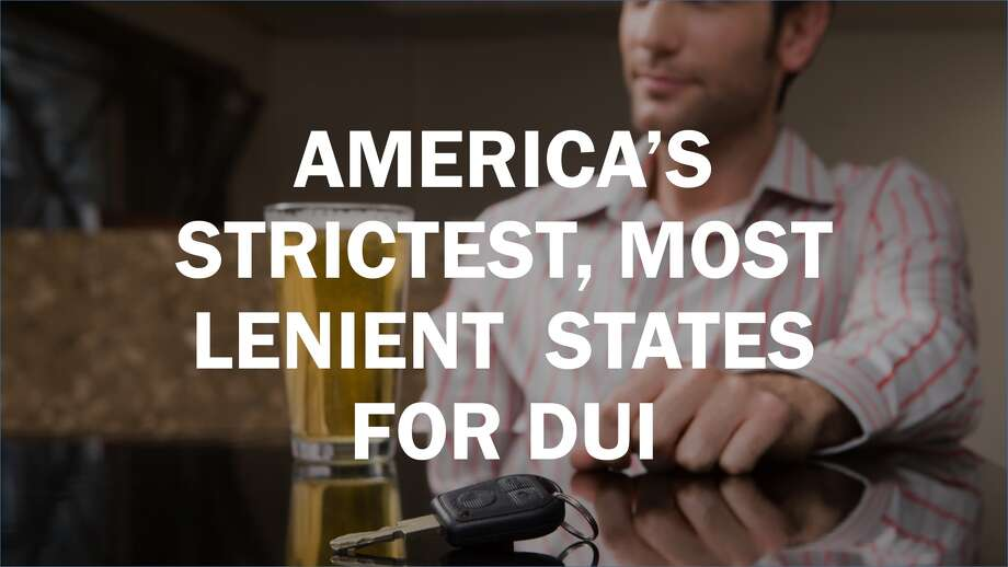 america s strictest most lenient states for dui sfgate