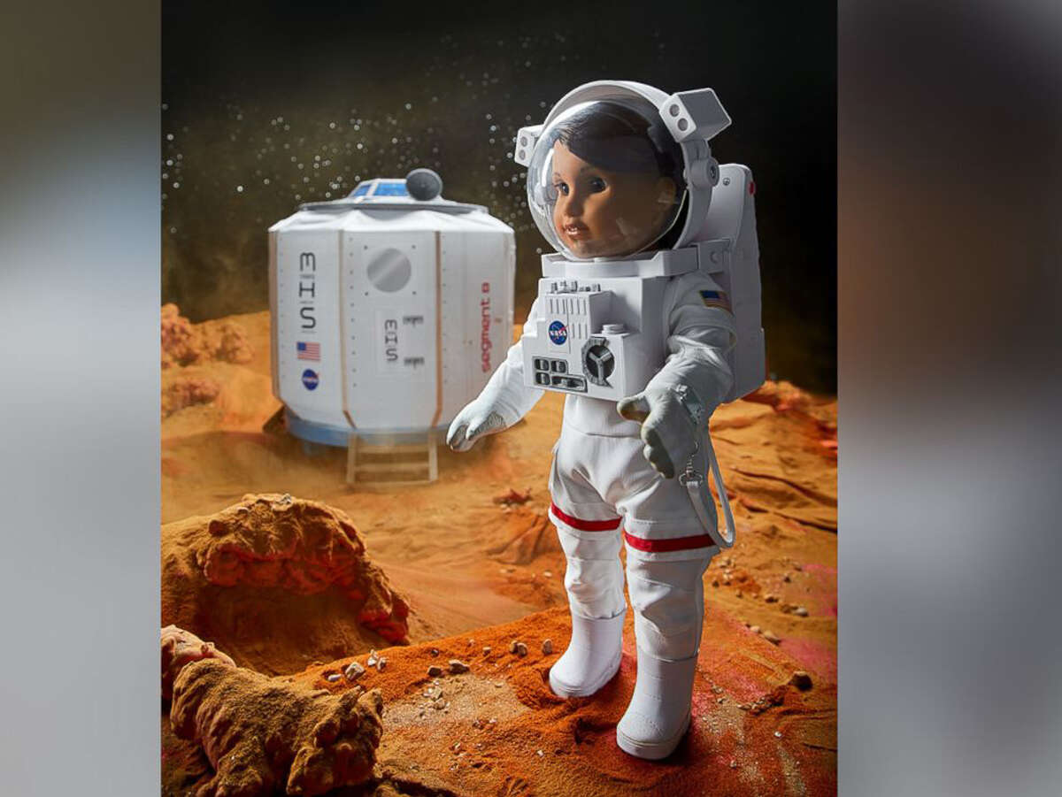 American Girl is launching a new doll in its line of inspiring characters for girls. Luciana is an aspiring astronaut who wants to be the first person to go to Mars. The doll launches Jan. 1, 2018, and comes with STEM-inspired clothing and accessories including a space suit and Mars habitat.